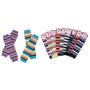 Wholesale New Designer Stripe Leg Warmers 60 Pairs