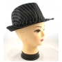 Wholesale Fedora Hats | Stripe Fedoras | 7 Hats