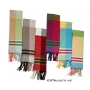 Wholesale Designer Style Scarf with Fringe ends - 1 DZ