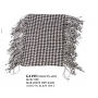 Wholesale Pashmina Scarf With Fringe Ends On Both Sides – Checker Scarf - 12 Dozen