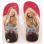 Wholesale Girls Hannah Montana Flip Flops - Girls Thong Sandals - 48 Pairs