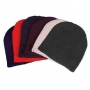 Wholesale Solid Beanies - Spandex Beanies - 1 Doz