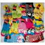 Wholesale Women's Slipper Socks - Animal Sock Slipper - 1 Doz