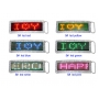Wholesale Led Light Name Buckle | Led Buckle | 12 DZ