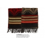Wholesale Poncho Shawl With Fringe Ends - 1 Doz