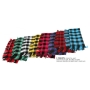 Wholesale Checker Scarves - Checker Scarf - 12 Doz
