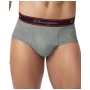 Champion Brief - Black & Grey Briefs 6-Pack
