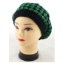 Wholesale Checker Beret - Women's Berets - 1 Doz