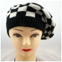 Wholesale Beret - Checker Knit Berets