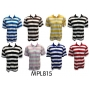 Wholesale Polo Shirts - Men's Stripe Polo Shirts - 1 Doz
