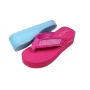 Wholesale Sandals - Wedge Thong Sandals - 36 Pairs