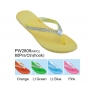 Wholesale Women's Flip Flops with Rhinestones on Straps - 60 Pairs