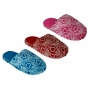 Wholesale Slippers - Winter Slippers with Hearts - 60 Pairs
