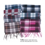 Wholesale Scarf - Plaid Winter Scarves - 12 Dozen