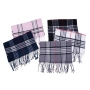 Wholesale Plaid Scarf - Winter Scarf - Shawl - 1 Doz