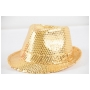 Wholesale Sequin Fedora Hats - Sequin Fedoras - 8 Doz