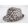 Wholesale Animal Print Fedoras - Fedora Hats - 8 Doz