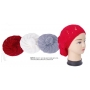 Wholesale Berets with Pompoms - 12 Doz