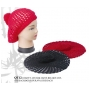 Wholesale Beret - Crochet Berets with PomPoms - 1 Doz