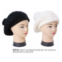 Wholesale Berets - Winter Berets with PomPoms - 12 Doz