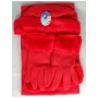 Wholesale Faux Fur Fleece Hat Scarf Gloves Set - 1 Doz