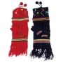 Wholesale Kid's Winter Sets - Kids Hat Scarf Gloves Set - 12 Doz