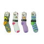 Wholesale Women's Animal Crew Socks - 30 DZ