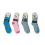 Wholesale Women's Novelty Crew Socks - 1 DZ