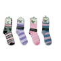 Wholesale Women's Stripe Socks - Novelty Socks - 1 DZ