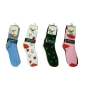 Wholesale Women's Socks with Fruit Designs - 30 Doz