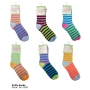 Wholesale Puffy Socks - Stripe Winter Socks - 30 Doz