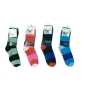 Wholesale Women's Stripe Socks - Sock - 12 Pairs