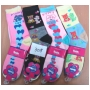 Wholesale Women's Socks with Love and Hearts - 1 Doz