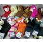 Wholesale Women's Fashion Slipper Socks – Animal Sock Slipper - 5 DZ
