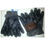 Wholesale Winter Gloves - Youth Leather Like Gloves - 1 Doz