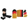 Wholesale Hat Scarf Gloves Sets – Fuzzy Winter Set - 1 Doz