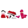 Wholesale Women's Winter Hat Scarf Gloves Set - 1 Doz