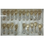 Wholesale Watches - Women's Gold Tone Watch - 20 Pieces