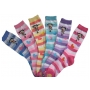 Wholesale Women's Socks - Womens Crew Socks - 12 Pairs