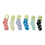 Wholesale Women's Soft Puffy Socks - Fuzzy Sock - 1 Doz