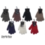 Wholesale Chenille Gloves - Winter Chenille Gloves - 1 Doz