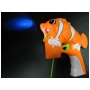 Wholesale Fish Light Up Bubble Gun – Cartoon Fish Bubble Gun - 48 Guns