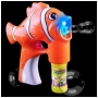 Wholesale Fish Light Up Bubble Gun – Cartoon Fish Bubble Gun - 24 Guns