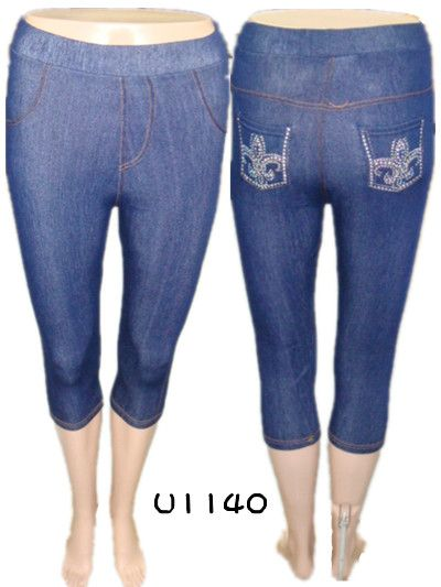 Wholesale Leggings - JEANS Leggings - 10 Doz