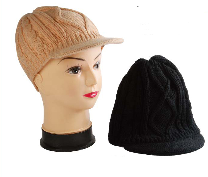 fce3e550079 Wholesale Visor Beanie with Insulation