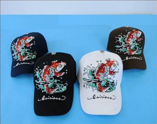Wholesale Fish BASEBALL Hats - Snapback BASEBALL CAPs - 1 Doz
